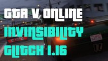 "GTA 5 Online Invincibility and Invisibility Gitch after Patch 1.16 ""GTA5 Invincibility Glitch 1.16"""