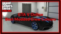 """GTA 5 Online """"Modded Crew Colours"""" Best Modded Crew Colours """"patch 1.14"""""""