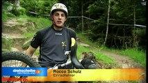 ZDF Drehscheibe - Einrad Downhill