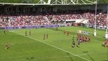 TOP14 - Toulouse - Oyonnax: Essai Cyril Baille (TLS) - Barrage - Saison 2014/2015