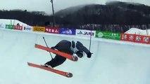 FIS フリースタイルスキー選手権2009 ハーフパイプ公開練習