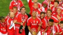 Benfica retain Taca da Liga title : Benfica 2 - 1 Maritimo Highlights