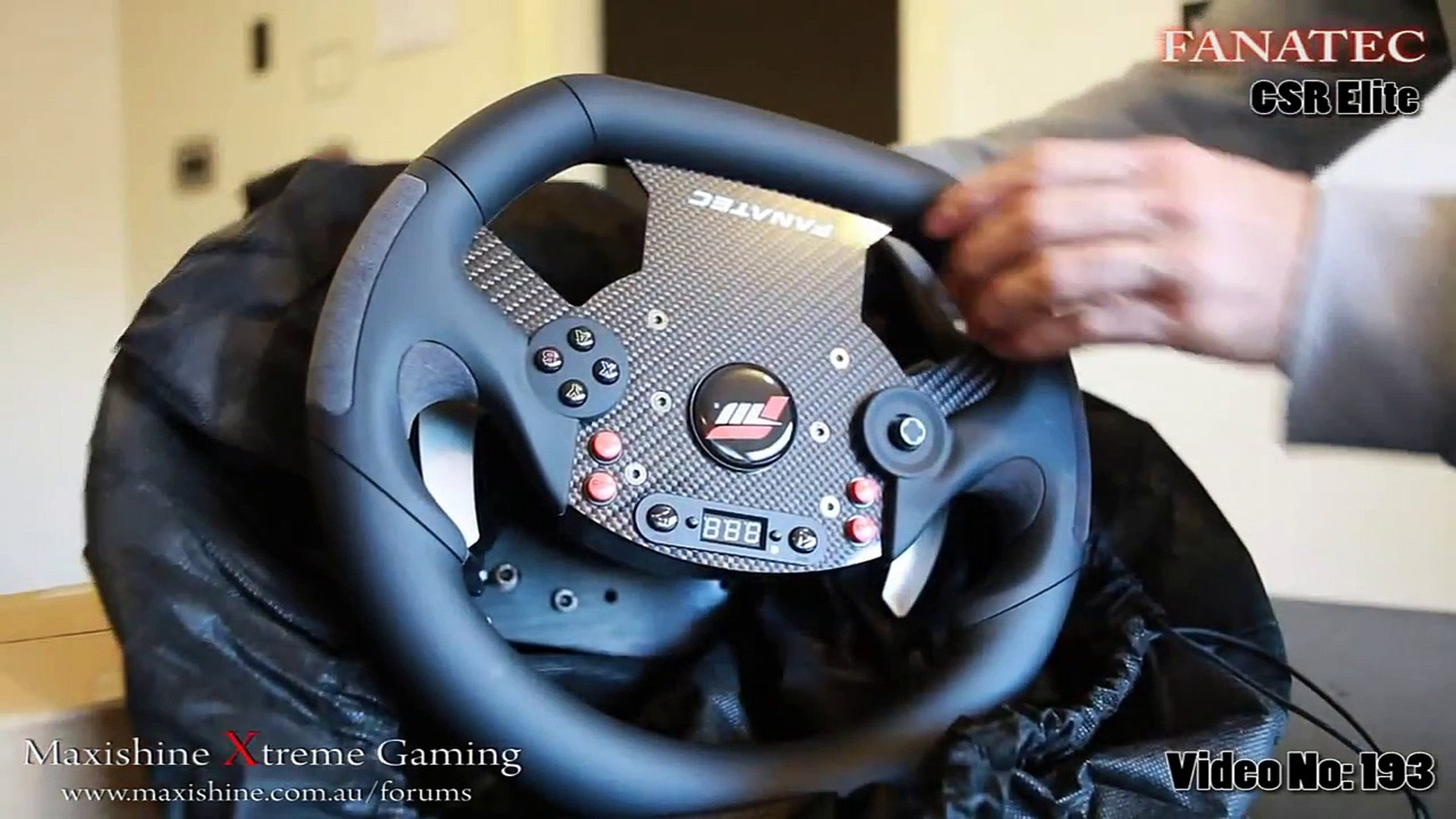 Fanatec CSR Elite Maxishine Video