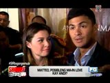 Matteo comments on 'switching partners' in showbiz