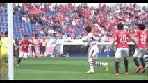 Jリーグ 浦和レッズvsFC東京 試合ハイライト 大量4ゴールでレッズが首位キープ