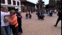 Dramático video del terremoto en Bhaktapur, Nepal