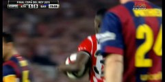 Williams - Athletic Club 1-3 FC Barcelona ( Copa del Rey ) 30/05/2015
