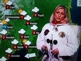 Eli Kari Gjengedal TV2 været - Houston we have a problem