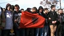 Protesti u Gostivaru zbog dvostrukog ubistva - Al Jazeera Balkans
