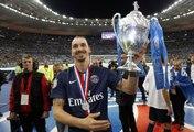 La joie du PSG au Stade de France après la finale de la Coupe de France