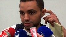 Réaction de Jamel Ait Ben Idir en zone mixte après PSG-Auxerre (1-0)