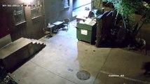 Raw: Bear 'Dumpster Dives' for the Bratwurst