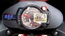 KOSO RX2N set on Kawasaki Ninja 250r by One3 motoshop