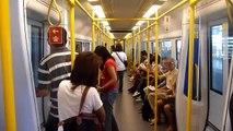 MRT Train from Suvarnabhumi Airport, Bangkok, Thailand - 10/2010