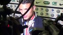 Reaction de Thiago Silva en zone mixte après PSG-Auxerre (1-0)