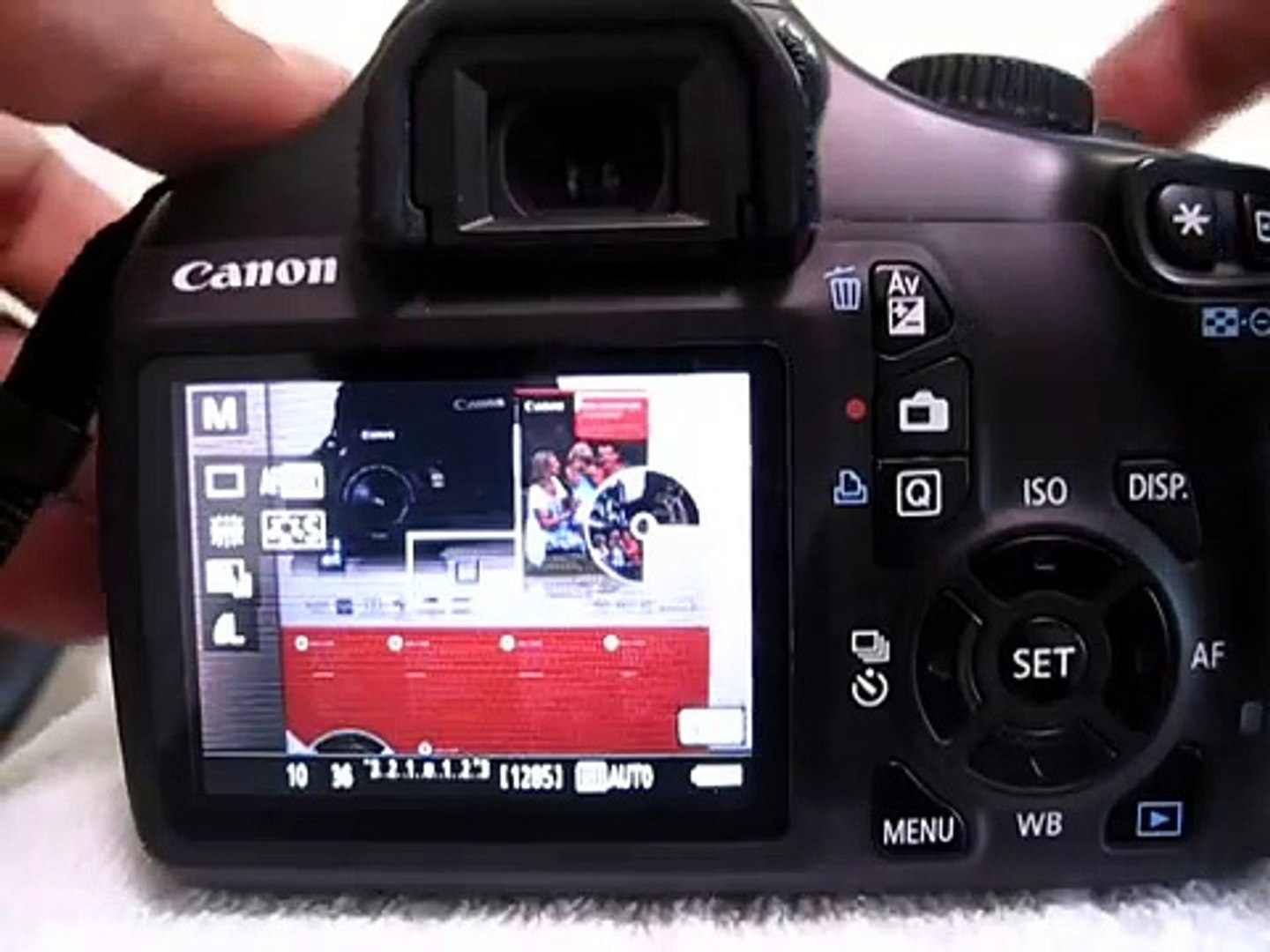 Canon 1100D (Rebel T3) - How to Use M-mode (Manual mode)