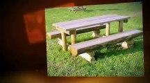 Plus de 100 modèles - Tables pique nique en bois