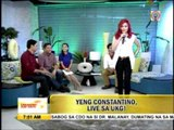 Yeng performs single 'Chinito' on 'UKG'