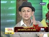Jon Santos wants to impersonate Napoles