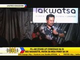 Fil-Am stand-up comedian a hit in UK
