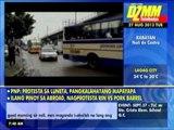 20130827 3 bus collision snarls EDSA traffic