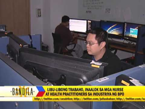 BPO opens jobs for nurses, healthcare workers