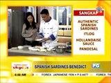 Recipe: Spanish sardines Benedict