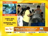 Watch  Evacuees in Kawit fall ill