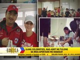 Celebrities give aid to flood victims