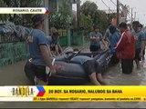 Massive flooding hits Cavite