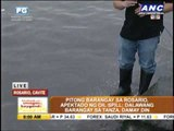 Oil spill hits coastal barangays in Cavite