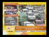 Heavy traffic greets motorists, commuters on SONA day
