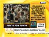 Punto por Punto: Ang ikaapat na SONA ni PNoy
