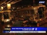 Road reblocking blamed for metro traffic amid floods