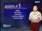 Isabela gears up for Tropical Depression Isang
