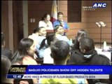 Cops show off talents in Baguio's Finest Idol