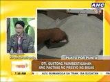 Punto por Punto: DTI, gustong paimbestigahan ang pagtaas ng presyo ng bigas
