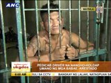 Alleged robber nabbed in Manila