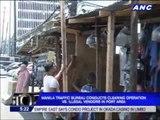 Manila port area cleared of illegal vendors