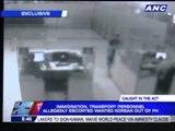 Immigration, transportation execs found escorting fugitive
