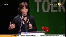 Jolande Sap op het GroenLinks congres over Kunduz Deel I
