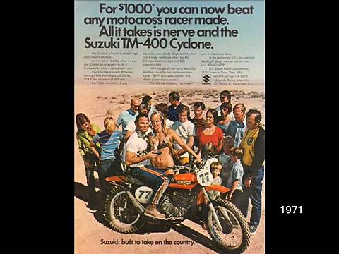 Vintage Suzuki Motorcycles