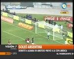 Visión Siete: Argentina 4 - Albania 0