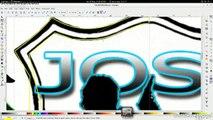 SPEED ART INKSCAPE Y BLENDER ELABORANDO UN LOGO APARTIR DE UNA IMAGEN TRANSFORMACION A VECTORES PARA EDITAR EN BLENDER 3D PARA ANIMACION MAYO 2015