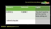 Pinyin – Mandarin   Chinese   Cantonese   translation  廣普對譯 4 bilingual