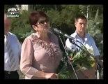 Valentina BULIGA a dat cu CAPUL in MICROFON la comemorarea victimelor razboiului din Transnistria