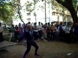 AMAZING  Bull WHIP Street Performer in INDIA