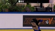 ISU Jr Grand Prix Courchevel Ladies Short Program Renee Hambly AUS