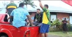 NRL Superstar Sonny Bill Williams Visits Samoa