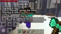 Deeze Glitches | Minecraft PE Survival Games Ep. #3